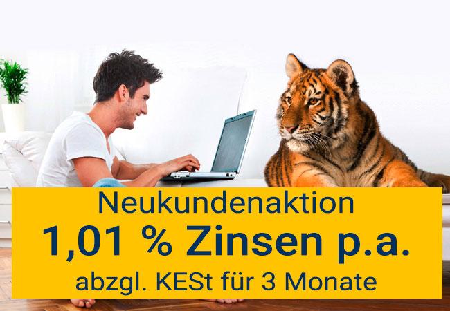 Anadi Online-Sparen Neukundenaktion
